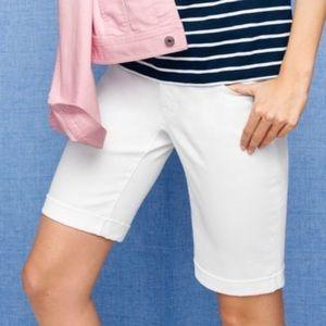 Talbots Flawless Five Pocket Boyfriend Jean Shorts
